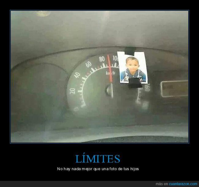 coche,conducir,familia,foto,hijo,limite,velocidad