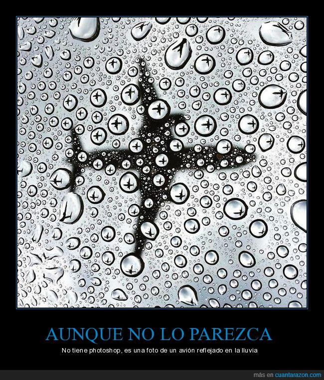 agua,avión,gotas,lluvia