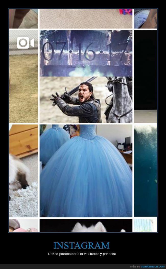 casualidad,Instagram,jon snow,kit harrinton,princesa,vestido