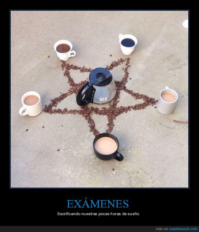 café,pentagrama,ritual,sacrificio