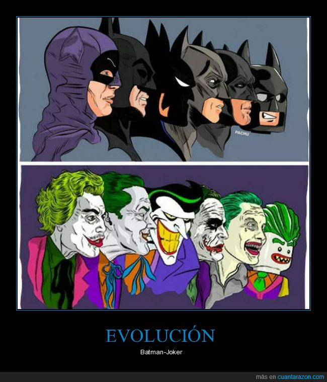 batman,evolución,joker