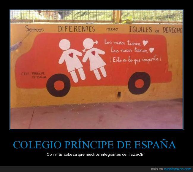 autobus,colegio,hazteoir,mural