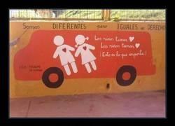 Enlace a Mural hecho por los alumnos del colegio público Principe de España de Huelva