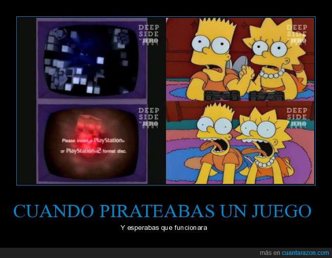 juego,piratear,playstation2,ps2,videojuegos
