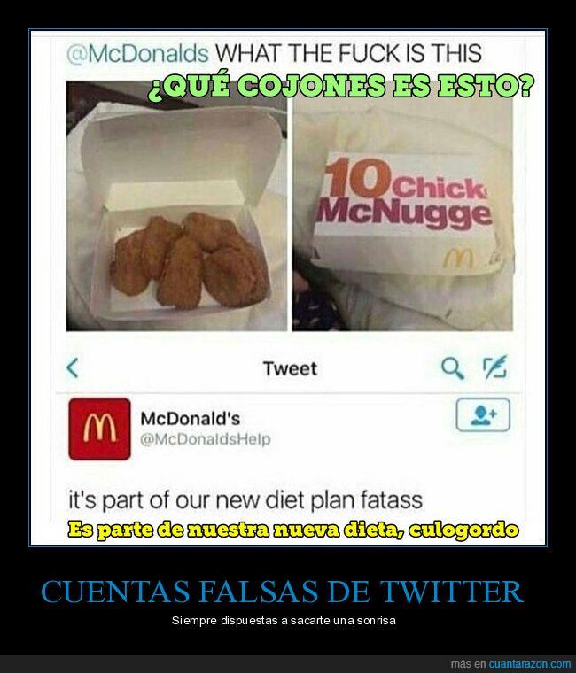 gordo,nuggets,queja,twitter