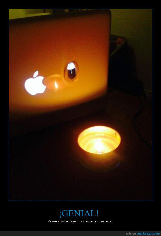 mac,manzana,Mcintosh,un pastón,vela