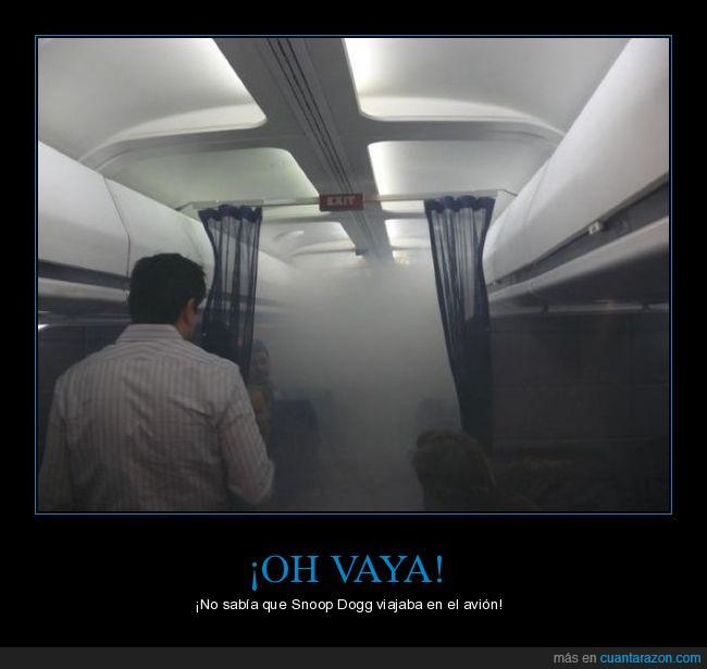 avión,fumar,humo,maría,marihuana,snoop dogg,viajar