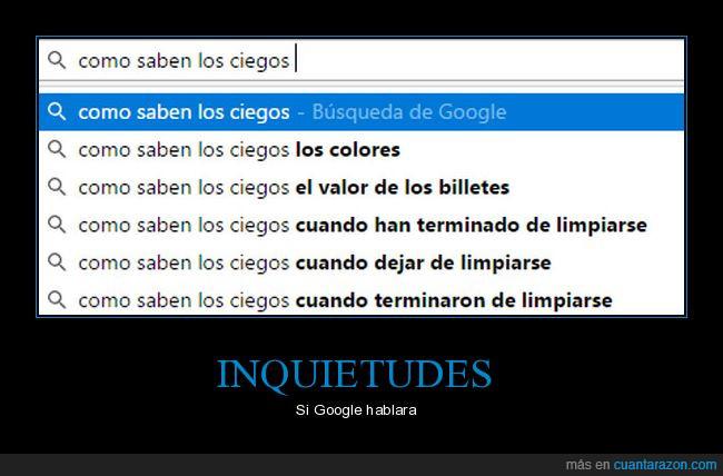 buscar,ciegos,google,preguntas