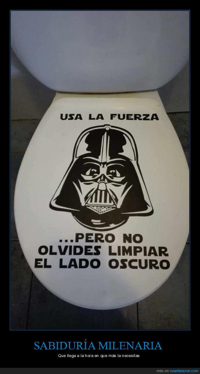 baño,Dart Vader,wc