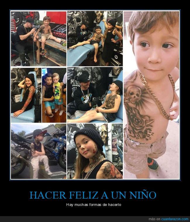 niños enfermos,tatuador,tatuajes