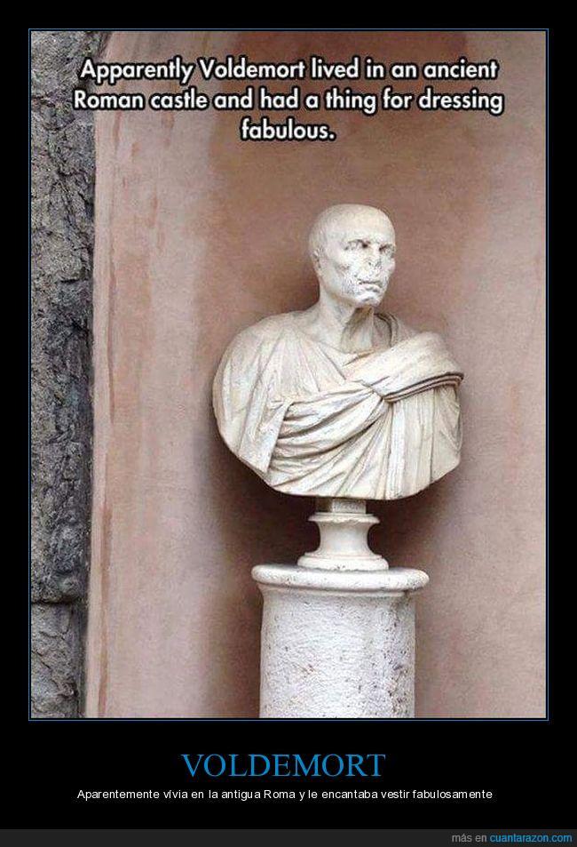 escultura,lord voldemort