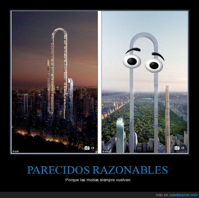 clippy,nueva york,ny,rascacielos