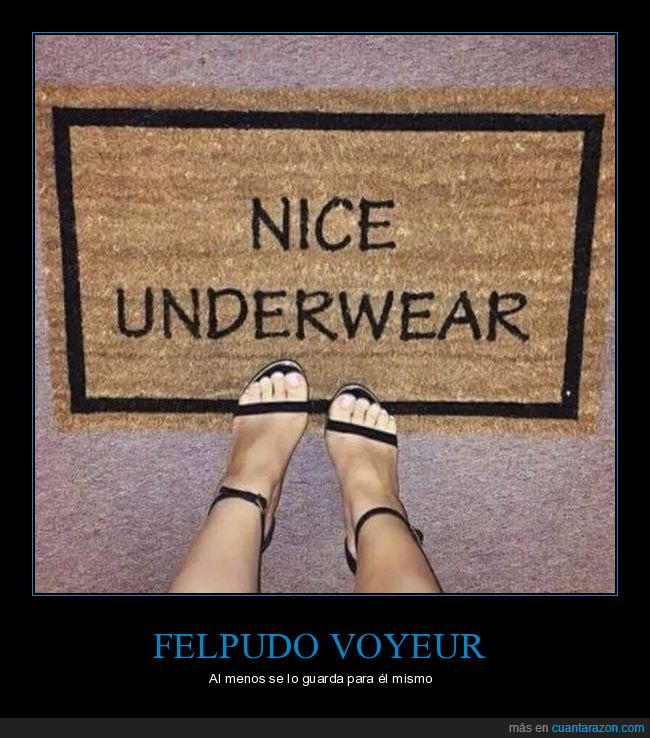 bragas,felpudo,te las ve,underwear