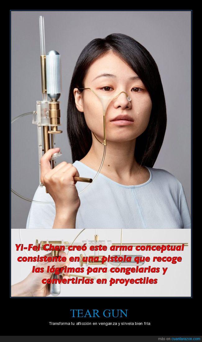 Pistola,tristeza,venganza