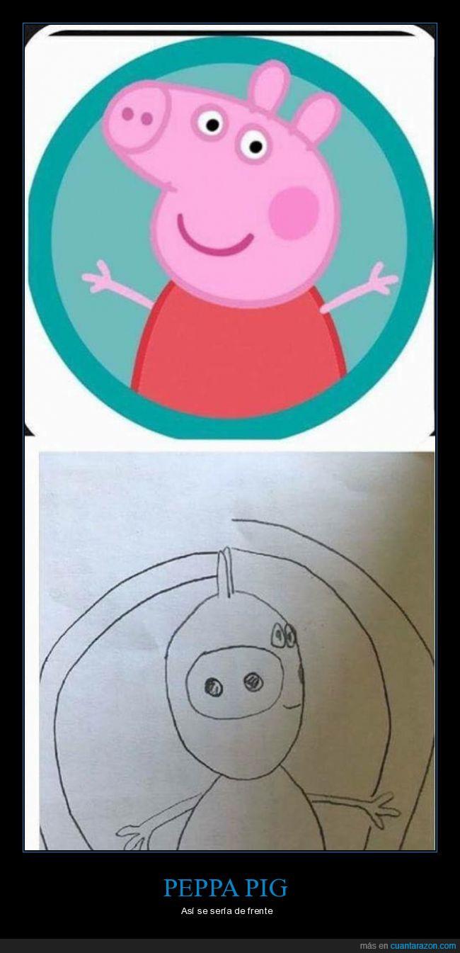 da mal rollo,dibujos,Peppa pig