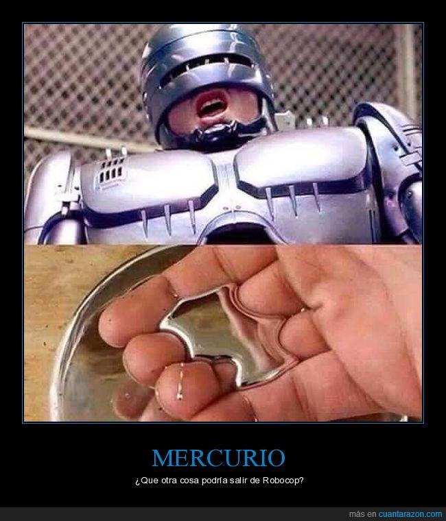mercurio,película,Robocop,romot