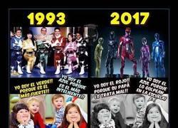 Enlace a La percepción que se tiene hoy en día de los Power Rangers ha cambiado totalmente
