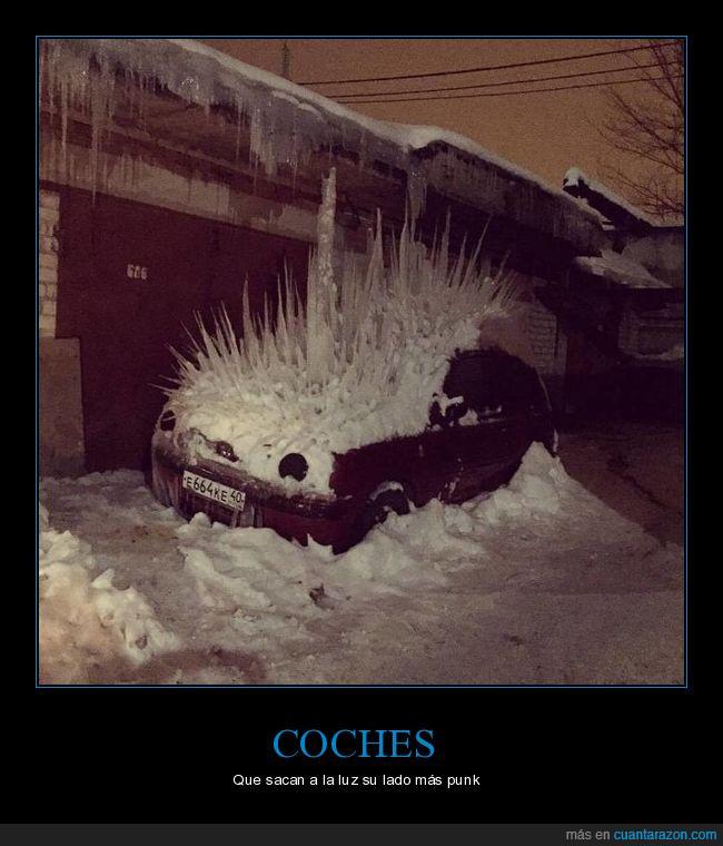 car,nieve,punk,snow