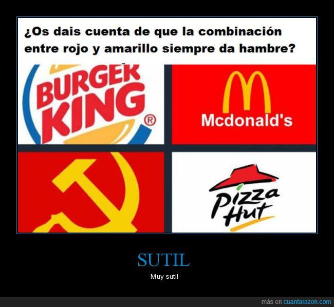 amarillo,comunismo,hambre,logos,rojo