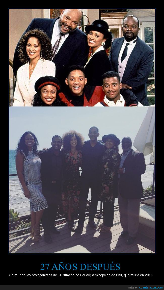 el principe de bel-air,fresh prince of belair,la serie empezó en 1990,reencuentro,will smith