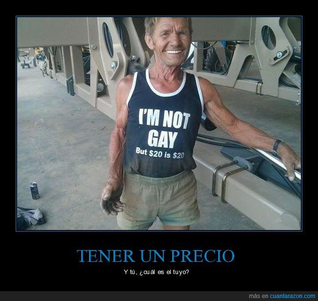 camiseta,gay,me ofrezco,precio