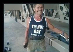 Enlace a ¿Crees que sabe lo que dice la camiseta?