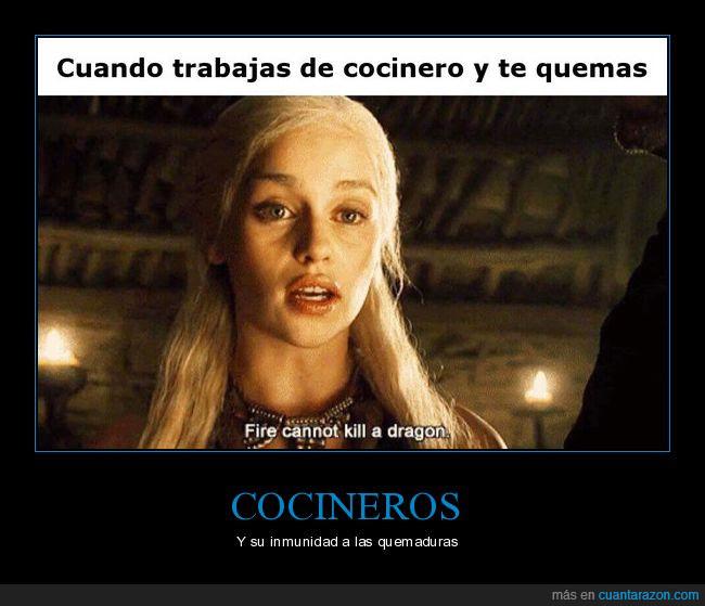 cocineros,Daenerys,juego de tronos