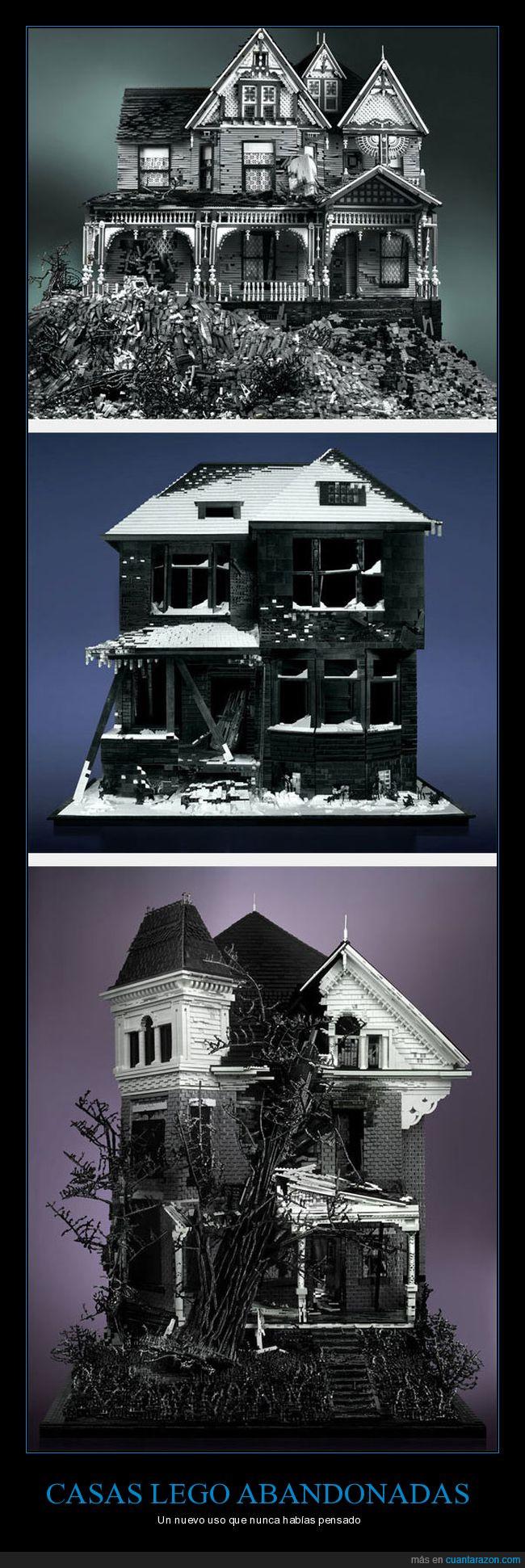 casa abandonada,construcción,lego