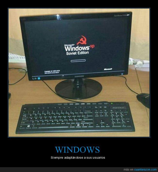 edición,ordenador,soviética,windows
