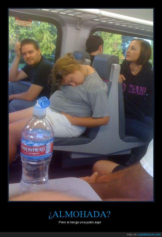 asiento,cuello,dormir,incomodo