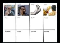 Enlace a Actualizando el calendario de memes anual