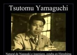 Enlace a Tsutomu Yamaguchi tiene el orgullo de ser doble superviviente nuclear