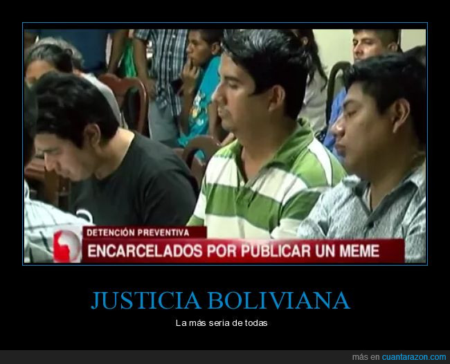 Bolivia,Memes,MinistroRidiculo,UNITEL,YaNoHayLibreExpresión