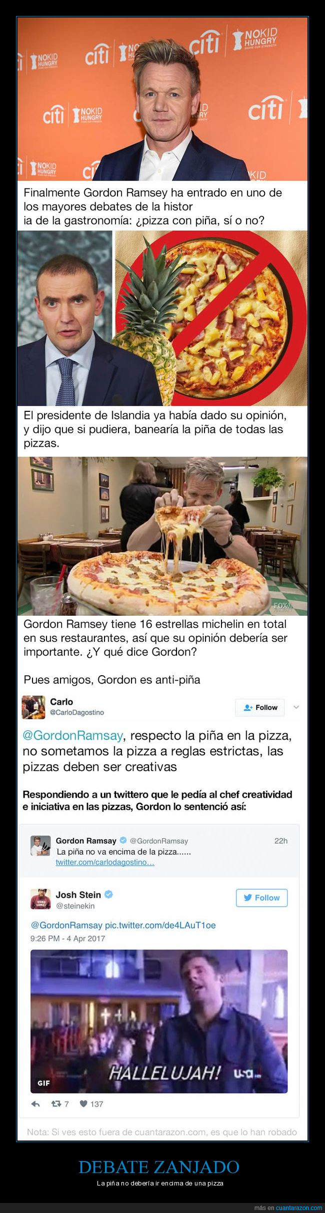 gordon ramsay,piña,pizza