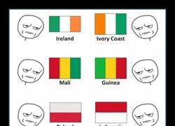 Enlace a Las banderas más confusas del mundo y cómo distinguirlas para que no te troleen