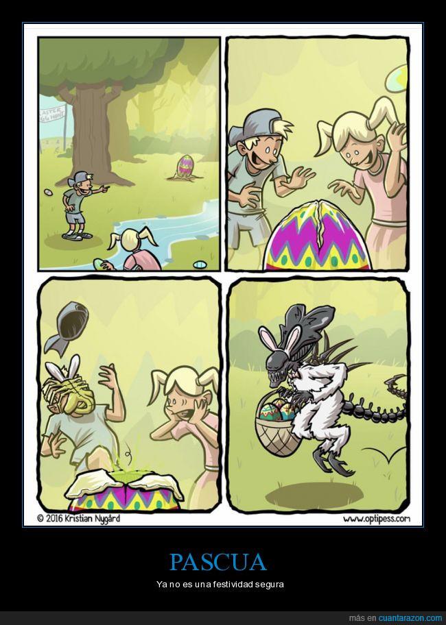 fábula,huevos,pascua