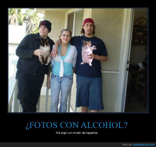 alcohol,amigos,familia,fiesta,foto,gatos,vacaciones