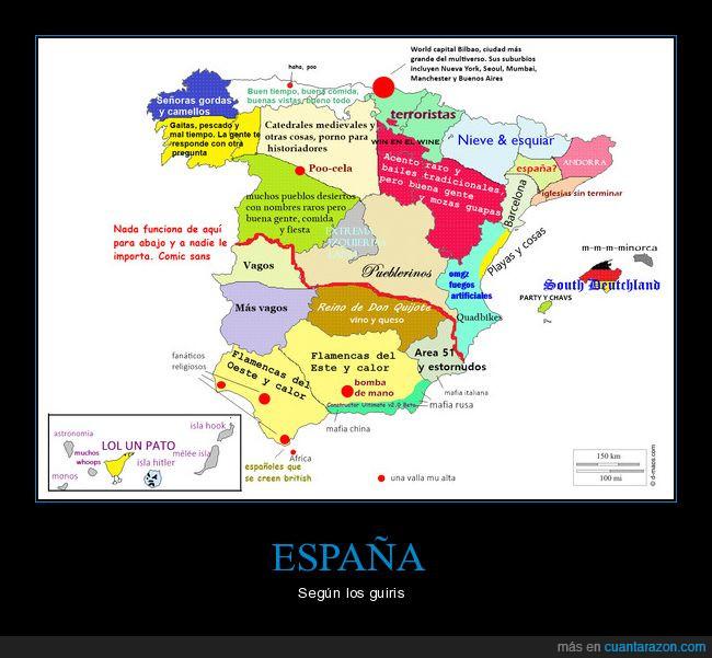 españa,guiris,mapa