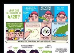 Enlace a La explicación de porqué a la marihuana la llaman 420