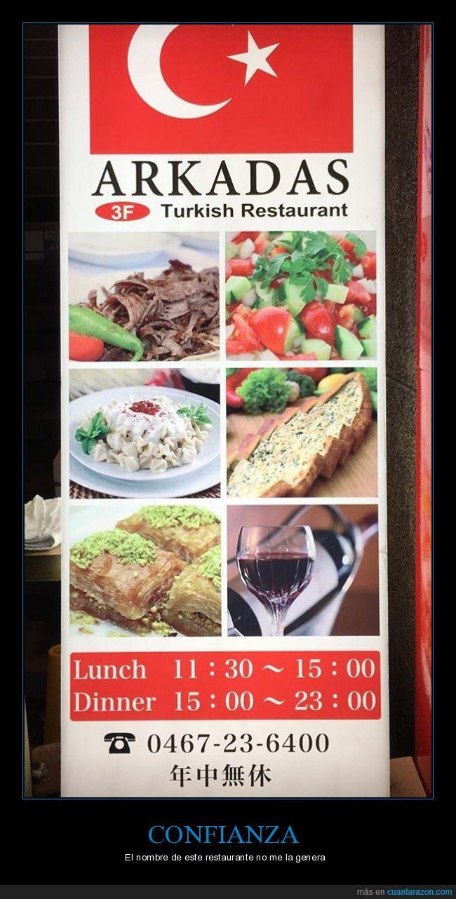 arcadas,comida,restaurante,turco