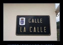 Enlace a Calle La Calle