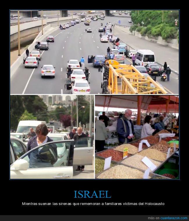 6 millones,digno de admirar,increíble,Israel,Paralizado,respeto
