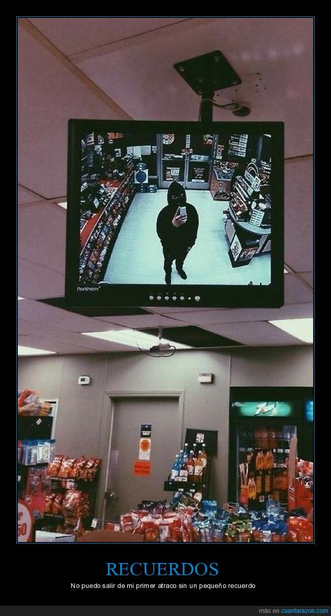 atraco,cámara,móvil,seguridad,tienda