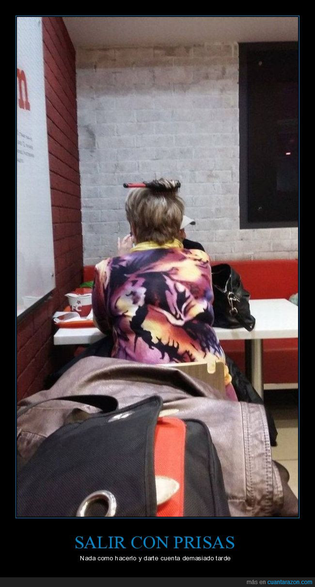 bolso,cabeza,KFC,peinado,peine,pelo