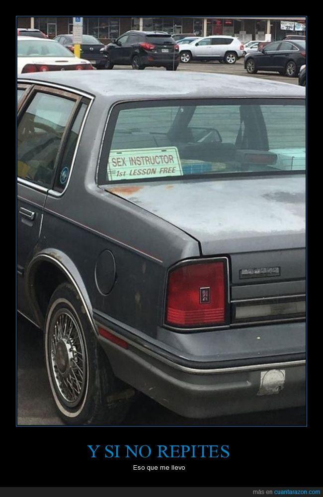 clases,coche,placa,primera gratis