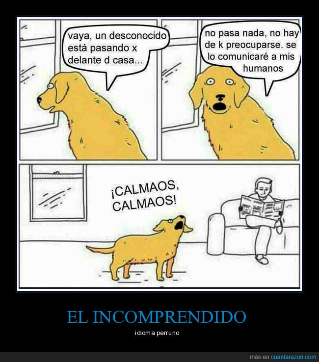 idioma,perros