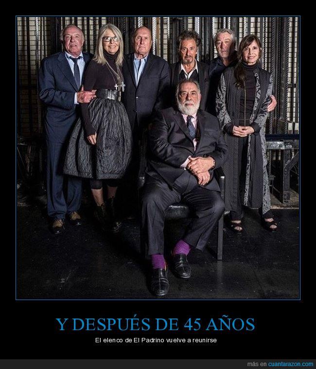45 años,Al Pacino,El padrino,Francis Ford Coppola,Peliculon