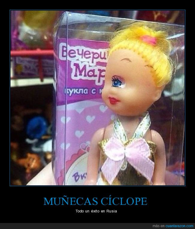 caja,cejas,cíclope,muñeca,ojo,rubia,Rusia