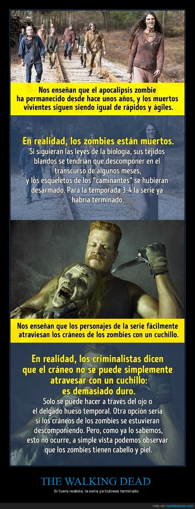 realidad,series,the walking dead,twd,zombies