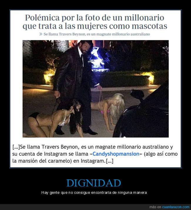 instagram,mujeres,perros,travers beyron,wtf